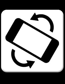 Veuillez pivoter votre appareil en mode paysage (écranàl'horizontal)